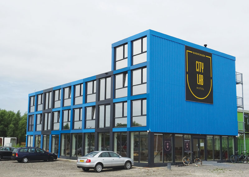 City Lab Hotel Groningen Wijnsma Kozijnen